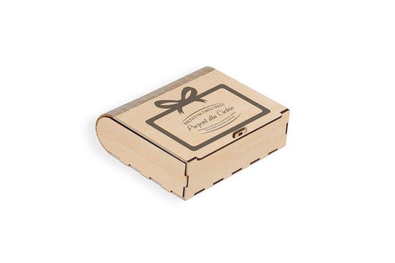 Pudełko grawerowane na prezent