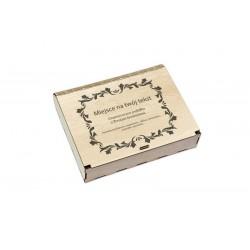 Pudełko na prezent grawerowane