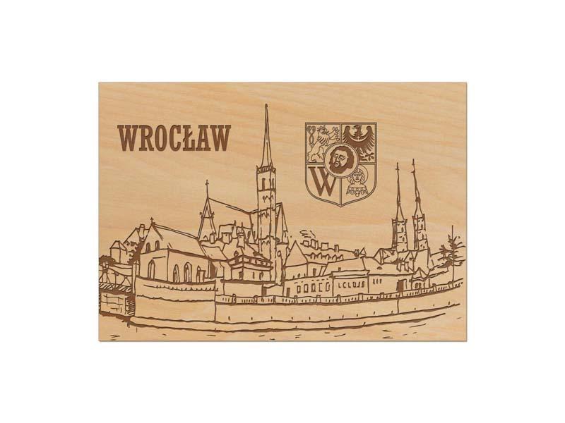drewniana Widokówka Wrocław